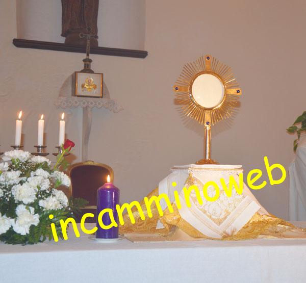 Patti: celebrazioni per ricordare l'inizio dell'Adorazione Eucaristica quotidiana nella Chiesetta di Santa Rosa