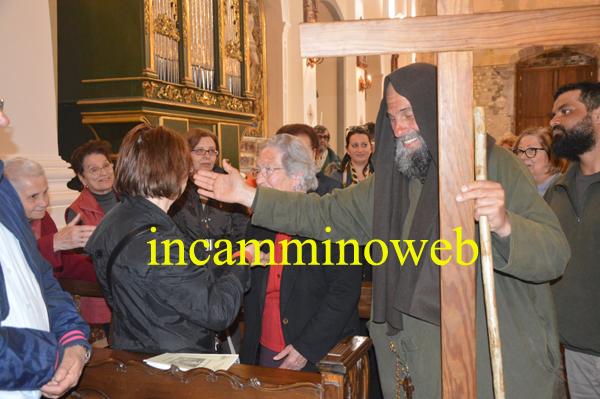 Patti: la toccante testimonianza di Biagio Conte in Cattedrale e la sosta nel Santuario di Tindari; guarda le FOTO