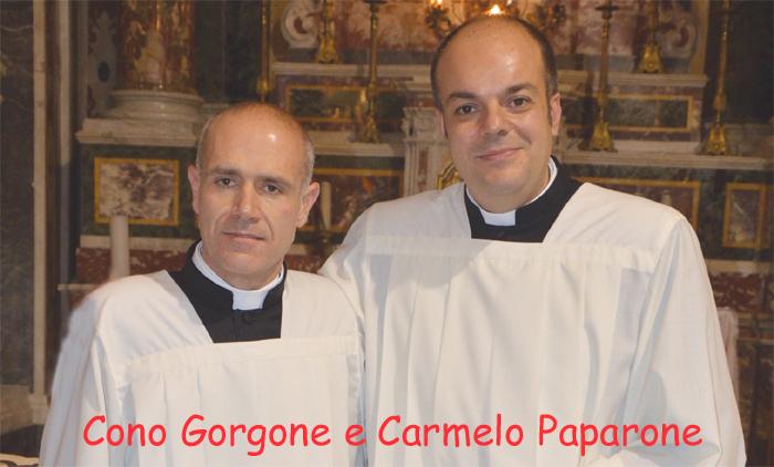 Patti: sabato 12 settembre l'Ordinazione Sacerdotale di Cono Gorgone e Carmelo Paparone
