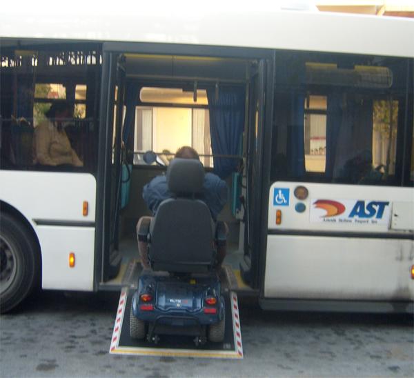 Patti: trasporto pubblico AST per i disabili, il comune distribuisce le tessere