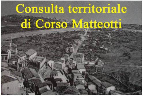 Patti: domani si riunisce la Consulta territoriale di Corso Matteotti