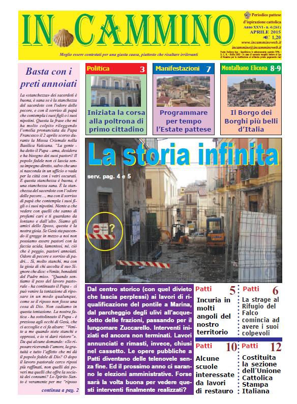 Patti: da oggi in edicola «La storia infinita», il nuovo numero del nostro giornale