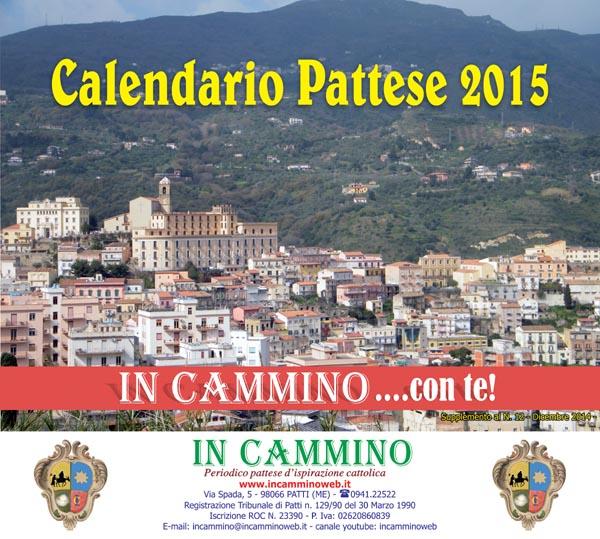Da oggi in edicola il «CALENDARIO PATTESE 2015»