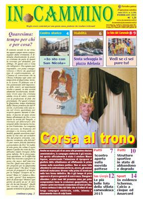 Patti: è in edicola «Corsa al trono», il nuovo numero del nostro giornale