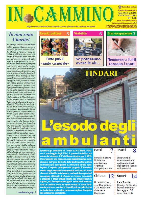 Patti: da oggi in edicola il primo numero del 2015 del nostro giornale, rinnovato nella grafica