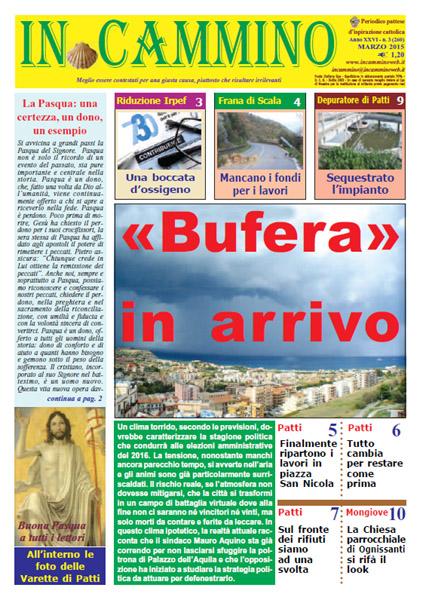 Patti: da oggi in edicola «Bufera in arrivo», il nuovo numero del nostro giornale