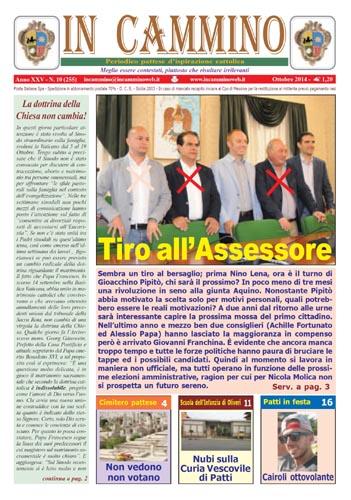 Patti: da oggi in edicola «Tiro all'Assessore», il nuovo numero del giornale dedicato alle dimissioni di Gioacchino Pipitò