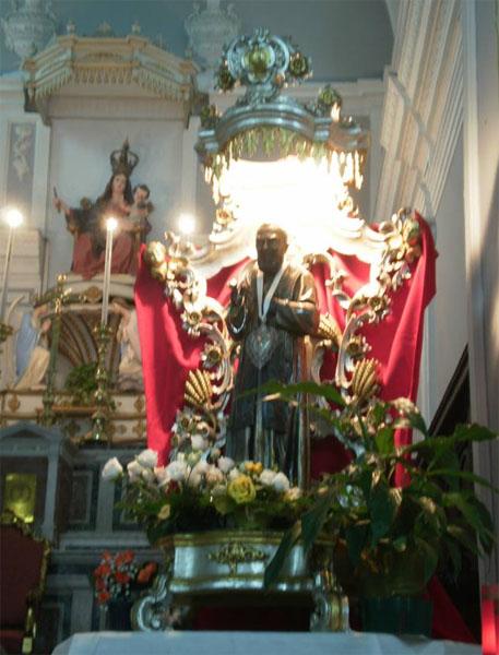 Patti: la fiaccolata in onore di Padre Pio; guarda le FOTO