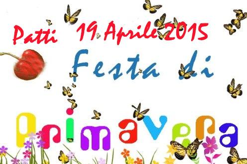 Patti: la «Festa di Primavera» nel piazzale Raffo Saggio