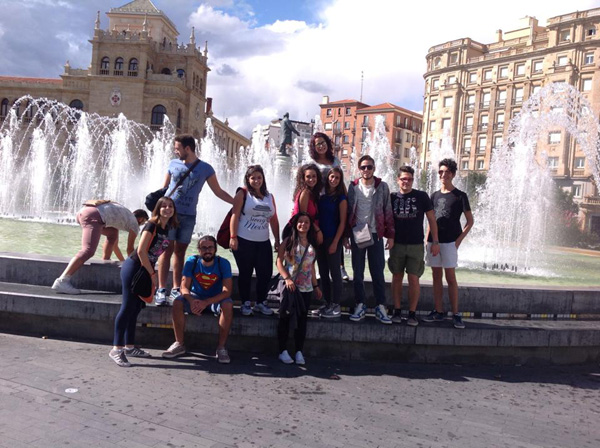 """Patti: si conclude l'esperienza di formazione in Spagna per 15 studenti dell'I.I.S. """"Borghese-Faranda"""""""