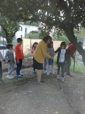 Patti: progetto di giardinaggio alla scuola