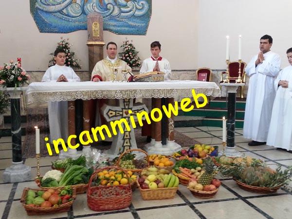 Patti: celebrata oggi la Giornata del Ringraziamento nella parrocchia del Sacro Cuore; guarda le foto