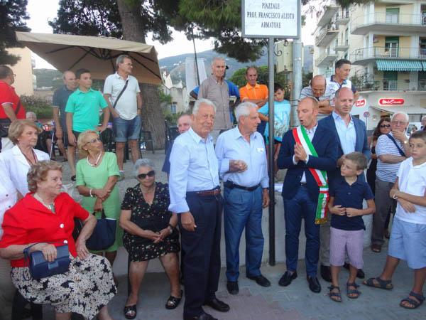 Patti Marina: inaugurato il piazzale del pontile