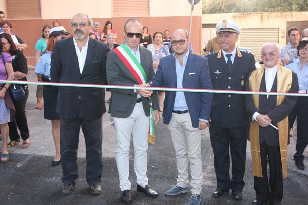 Patti: inaugurato il raccordo tra la via De Gasperi e il parcheggio