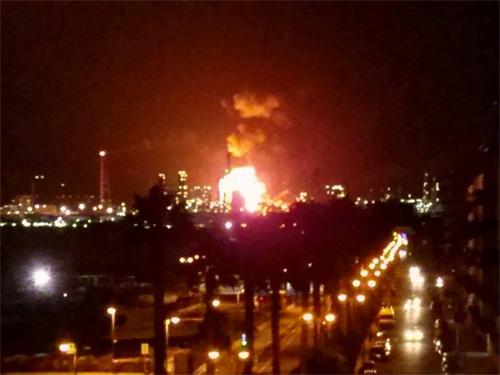 Milazzo: incendio alla raffineria, nessun ferito