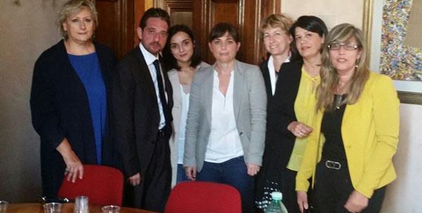 I collegamenti ferroviari nella provincia di Messina; incontro dei deputati del Pd con Debora Serracchiani