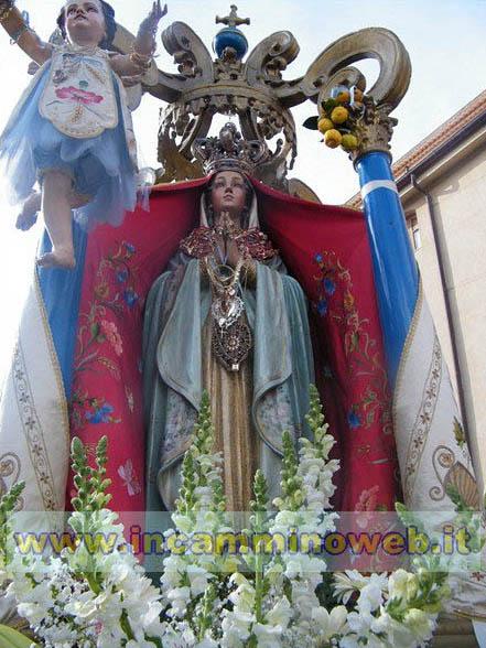 Patti: iniziano domani i festeggiamenti esterni in onore della Madonna Annunziata
