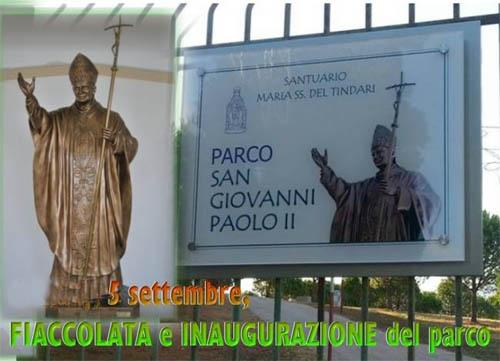 Tindari: oggi l'inaugurazione del monumento dedicato a San Giovanni Paolo II