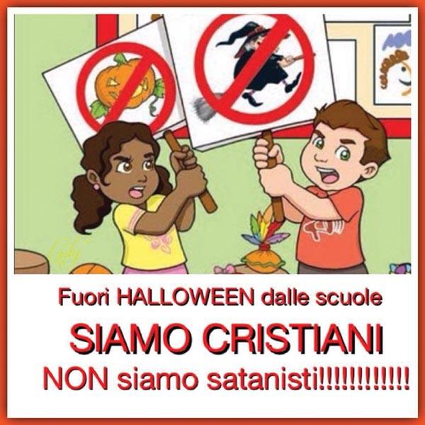 Fuori Halloween dalle scuole!