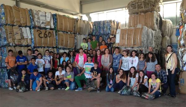 Patti: gli alunni della «Pirandello» in visita alla piattaforma ecologica