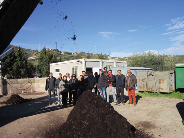 Patti: gli studenti della scuola agraria hanno visitato una ditta ditta che si occupa di riciclo e recupero di sostanze organiche