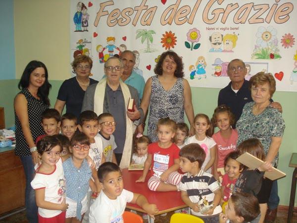 Mongiove: benedetta la nuova sede della scuola dell'infanzia