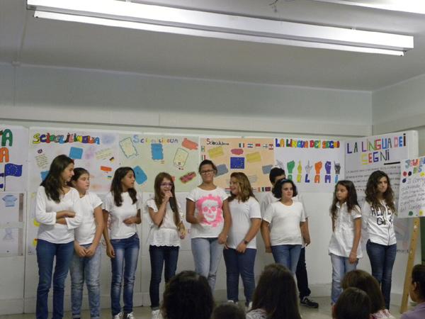 Patti: la «Giornata Europea delle Lingue» alla Scuola Pirandello; guarda le FOTO
