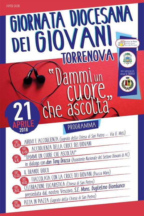 La Giornata dei Giovani della diocesi di Patti il 21 Aprile a Torrenova
