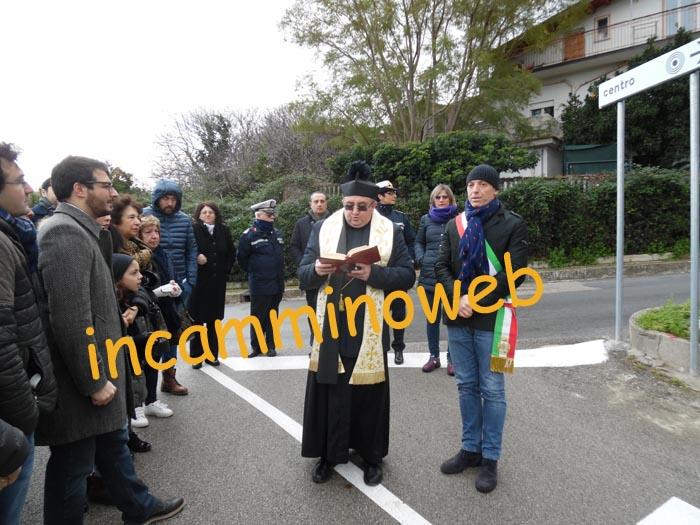 Patti: inaugurata stamane la strada intitolata al prof. Michele Mancuso; guarda le FOTO