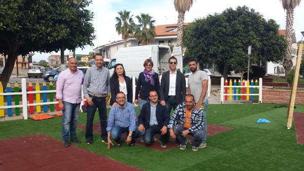 Patti: il parco giochi di piazza Raffaele Saggio adesso è realtà; domani l'inaugurazione per la «Festa di Primavera»