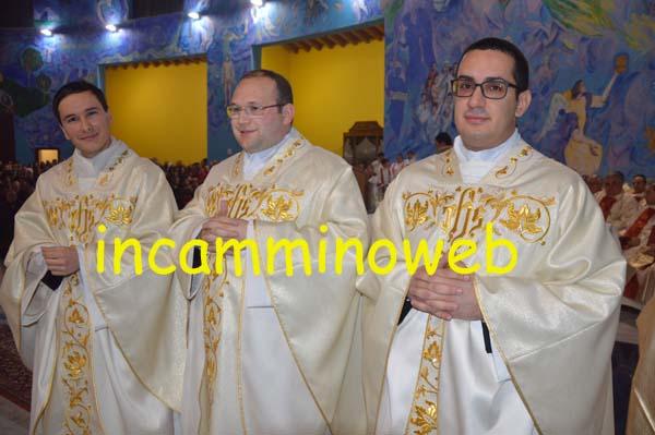 Patti: il Padre Vescovo Ignazio Zambito ha ordinato tre nuovi Sacerdoti