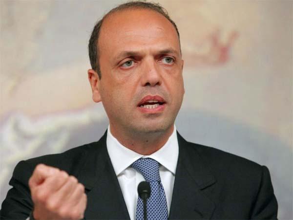 Patti: il ministro dell'Interno, Angelino Alfano, plaude al gesto eroico di Basilio Fallo