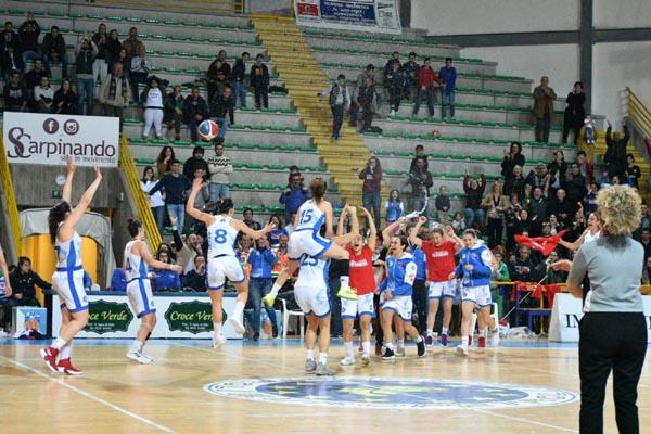 Patti: l'Alma Basket batte Catania e si laurea campione regionale