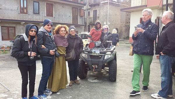 Montalbano Elicona: i crocieristi in visita alla