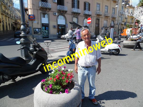 Patti: le fioriere di piazza Marconi abbellite per l'interessamento di un cittadino pattese