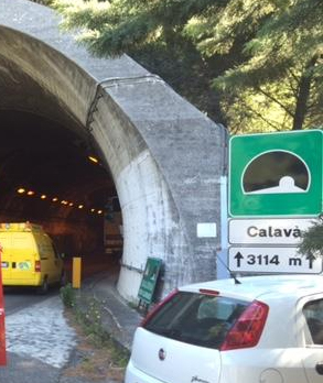 ULTIM'ORA: incidente nella galleria Calavà dell'A20