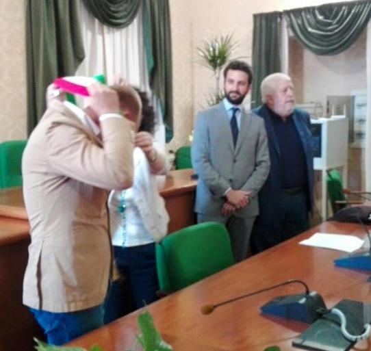 Patti: l'insediamento del rieletto sindaco Mauro Aquino e la proclamazione dei consiglieri eletti; guarda le FOTO