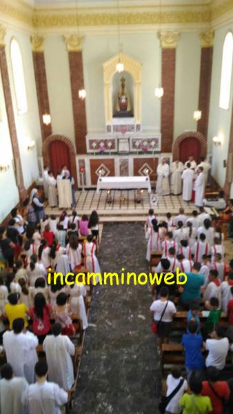 Diversi i ministranti della diocesi di Patti a Castell'Umberto per il raduno estivo; guarda le FOTO