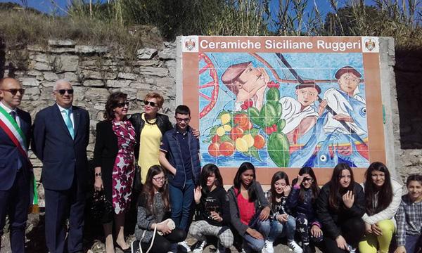 Patti: il Murales della sicilianità realizzato nella Via Di Vittorio