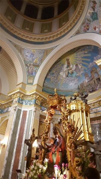 Tindari: la Madonna Nera in processione; guarda le FOTO