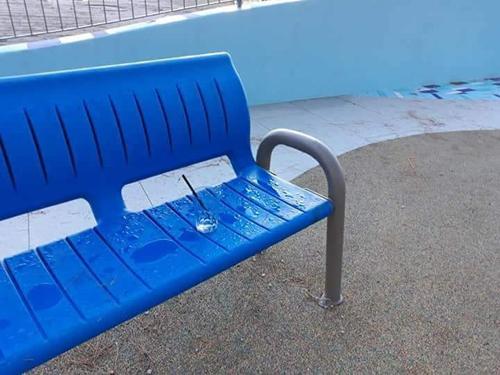 Patti Marina: già i vandali in azione nel nuovo parco giochi