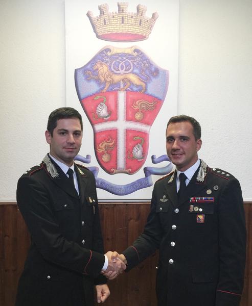 Patti: il tenente Marcello Pezzi è il nuovo Comandante della Compagnia Carabinieri