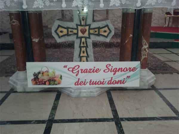 Patti: domenica 10 Novembre la Giornata del Ringraziamento nella parrocchia del Sacro Cuore