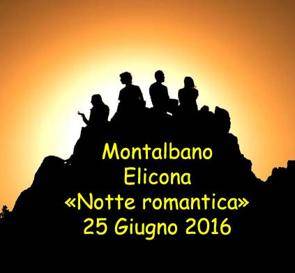 Montalbano Elicona: il solstizio d'estate festeggiato con la «notte romantica»