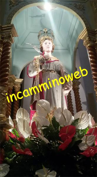 Patti: la collocazione di Santa Febronia nella vara processionale ha aperto i festeggiamenti religiosi in onore della nostra Patrona; guarda le FOTO