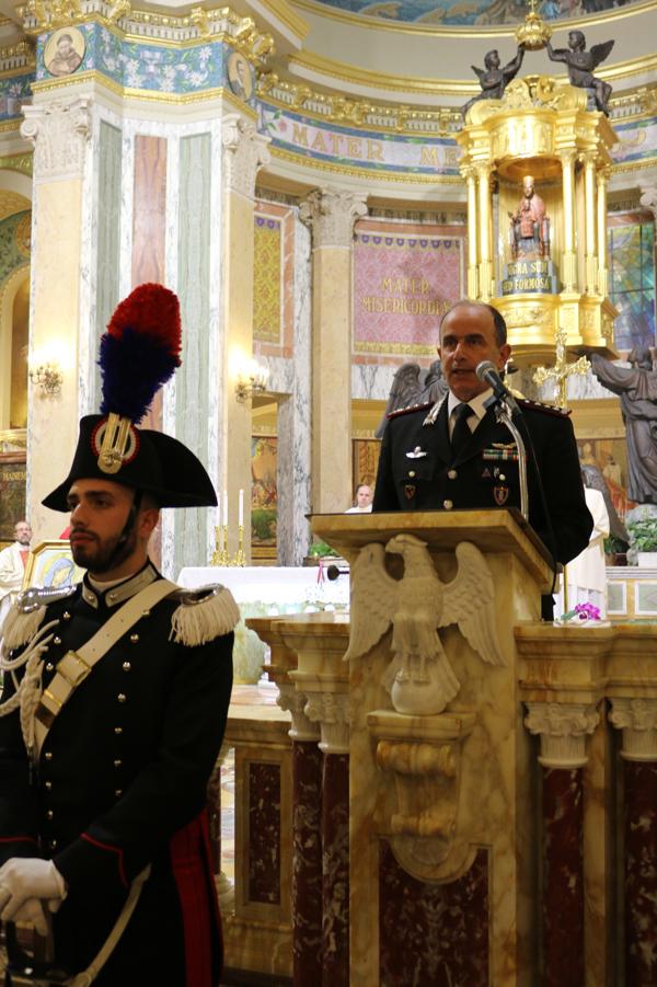 Tindari: l'Arma dei Carabinieri ha celebrato la festa della Patrona, la