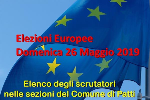 Patti: l'elenco degli scrutatori per le prossime elezioni europee