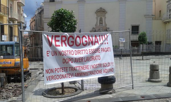 Patti: solidarietà ai lavoratori di piazza Niosi da parte dell'Associazione Consumatori Siciliani