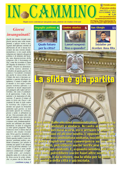 Patti: da oggi in edicola «La sfida è già partita», il nuovo numero del nostro giornale