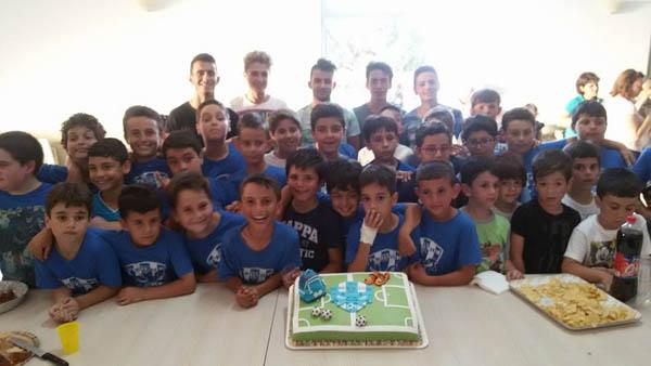 """Patti: all'Istituto Caleca la scuola calcio """"Tyrrenium"""" ha chiuso la stagione con una grande festa"""